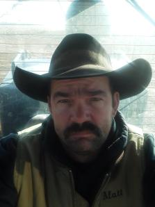 """Matt Ellis, from Wheeler, is not exactly sure what you wanted to  know,, something about my music history and stuff,,well the stuff  is...im a cowboy ,trained horses all my life,currently in the oilfield to  pay the bills,,,single and looking,,,,lol just in case,,bout 10yrs ago i went and told my dad to show me 3 chords,hes played for ever.....well i learned those 3 chords that weekend and played """"red and rio  grande"""" then while i was learnin those 3 chords,,,,bout 5yrs later my  now ex wife didnt like my music,or my choice of songs,,,long story  short ,shes gone and i still got my songs,,,,,,,,,,,karaoke,and campfires are the only places ive played till 2months ago...ive written about 4  songs ,one of which ill sing there,my music history is limited,,,,im not good at my guitar but i like it,,,,not much better than a campfire and  some beer and that acoustic"""
