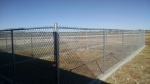 Outdoor Dog Runs and Pens at the Levelland Animal Shelter.