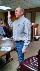 Rodney Carr Sworn in as JP Precinct 4 Monday
