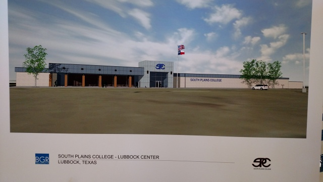 Architects Rendering of New SPC Lubbock Center
