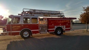 """AFTER"" Photo This photo was taken by KLVT News Monday night when the truck was showcased for the Levelland City Council."
