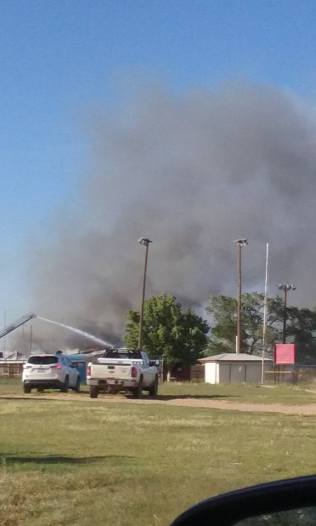 VFW Building Fire