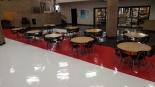 Updates flooring in LHS Commons Area