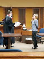 Anna Hord sworn in as County Attorney