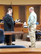 Kenny Greenlee sworn in as Constable