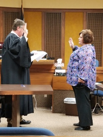 Debra Bramlett sworn in as Tax Assessor Collector