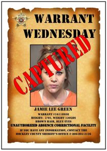 Captured jamie green