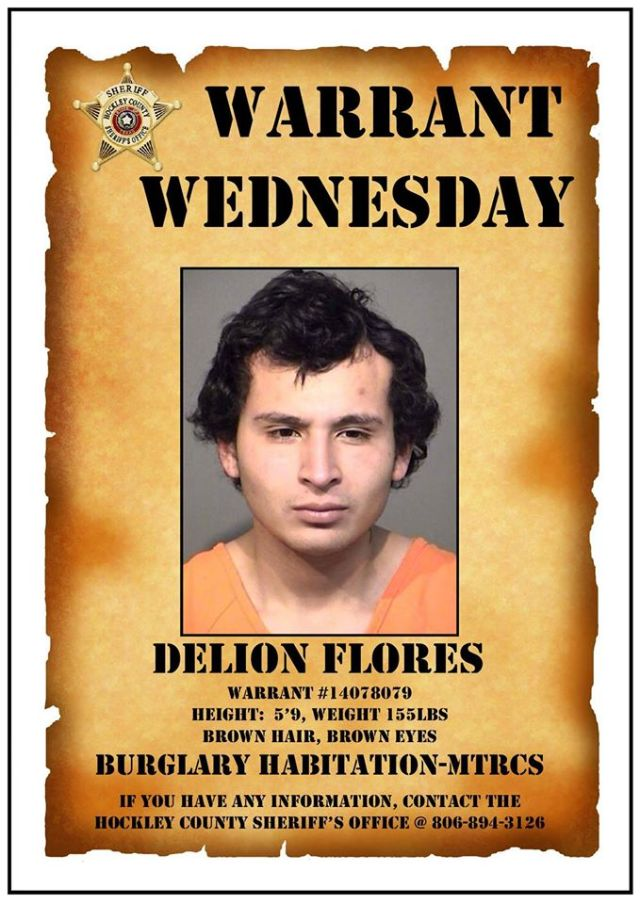 Wanted Poster 03292017