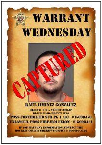 Captured Raul Gonzalez