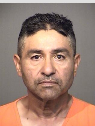Eulogio Guerrero, Jr arrested on felony charge. (Photo courtesy of HCSO)